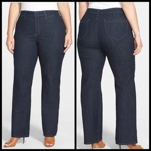 NYDJ Isabella HiRise Trouser Jeans 18W Like New!